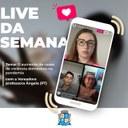 """""""A violência doméstica é fruto do patriarcado"""" afirma Ângela Melo durante live no Instagram da Câmara"""
