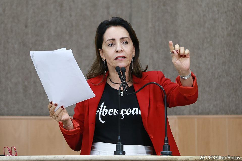 """""""É muito importante ter um grupo forte para disputar uma eleição"""", afirma Emília Corrêa"""