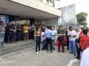 Américo apoia manifestação dos servidores do INSS
