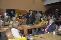 Américo de Deus participa de audiência pública na Alese e se posiciona contra hibernação da Fafen