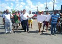 Américo manifesta apoio aos pescadores sergipanos que protestam entrega de obra