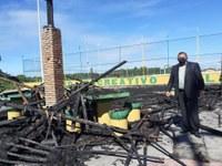 Américo pede que Emsurb tome providências para identificar causa de incêndio no Porto Dantas