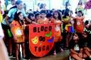 Anderson de Tuca fala sobre a história do Bloco Saudoso Tuca em escola da capital