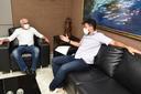 Anderson de Tuca se reúne com prefeito para tratar de melhorias na cidade