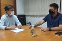 Anderson de Tuca se reúne com secretário da SMTT para falar sobre novo sentido em avenida