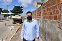 Anderson de Tuca solicitou reparos na Rua Juíz Mario Almeida Lobão