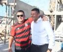 Ao lado do secretário nacional do esporte, Vereador Zezinho visita obras do CIE