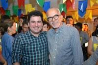Armando Batalha Júnior prestigia última noite do Forró Caju 2019