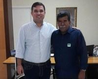 Bigode esteve com o secretário-chefe da Casa Civil solicitando melhorias para o povo de Aracaju