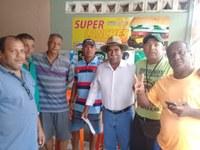 Bigode vai solicitar melhorias para o bairro São Conrado