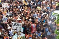 """Bloco """"Saudoso Tuca 2020"""" arrasta mais de oito mil foliões"""