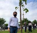 Breno Garibalde reforça a importância do plantio de mudas na capital