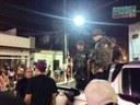 Cabo Amintas fiscaliza condições de trabalho dos policiais durante o carnaval