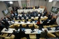 Plenário Municipal retoma trabalhos legislativos com pronunciamento do prefeito