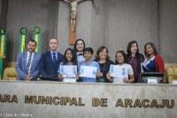 Câmara premia vencedores da 3º edição do concurso de poesia 'Marcelo Déda'
