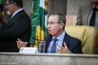 Cortes de CCs, passagens e diárias, nos últimos 2 anos, garantiram a folha e o concurso público, explica Nitinho