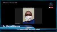 Dr. Manuel Marcos defende vacinação