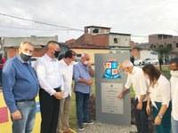 Eduardo Lima participou da entrega de duas importantes obras na capital