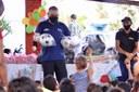 Eduardo Lima participou de comemoração ao Dia das Crianças no bairro Soledade