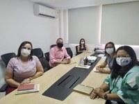 Eduardo Lima participou de reunião na Secretaria de Saúde do Município