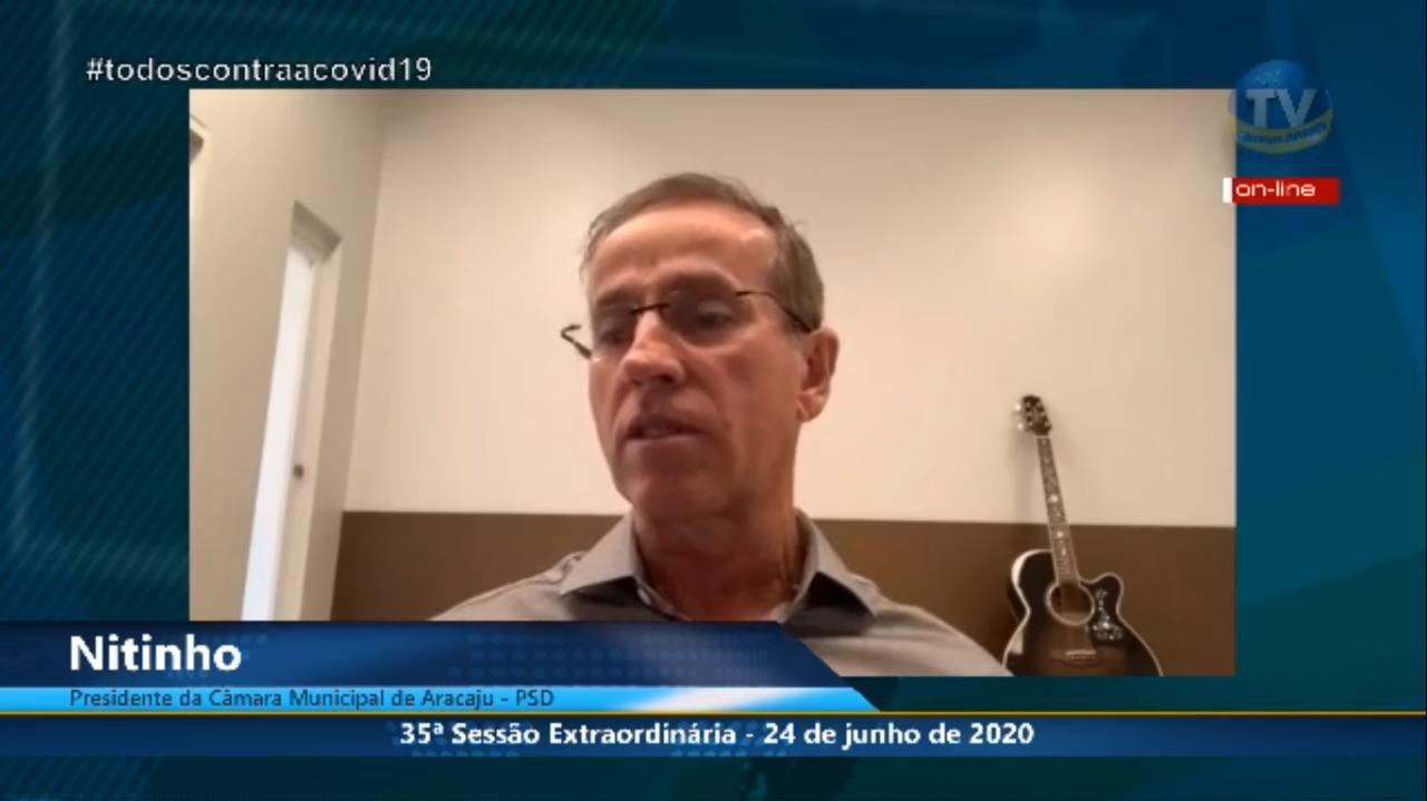 Em entrevista, Nitinho fala sobre congelamento de subsídios