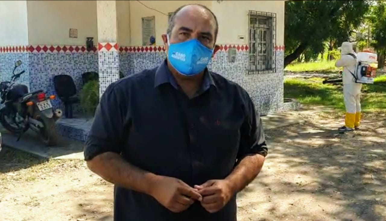 Em parceria com a empresa privada Cabo Amintas promove desinfecção de Unidades Policiais