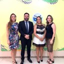 Escola do Legislativo Municipal recebe representante da Escola Judiciária Eleitoral do TRE