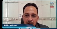 Fábio Meireles pede que governador não decrete lockdown e toque de recolher