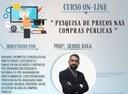 """Inscrições abertas para o curso da Escola do Legislativo """"Pesquisa de Preço nas Compras Públicas"""""""