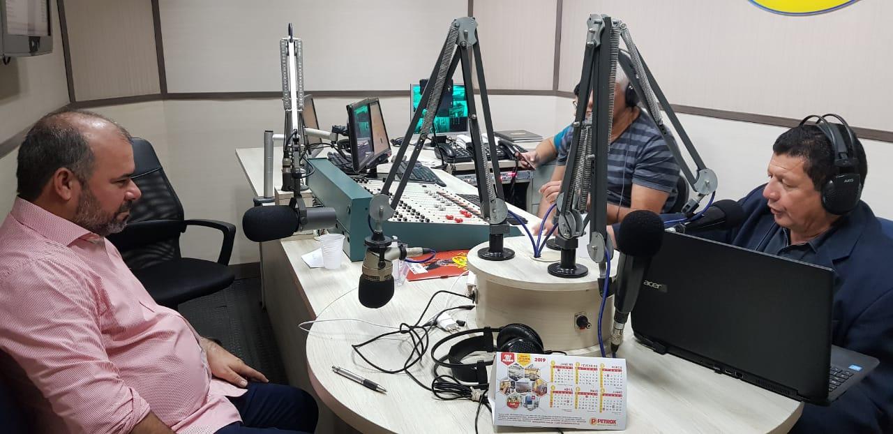 Isac fala sobre o mandato e possíveis mudanças para as eleições de 2020 em entrevista a rádio