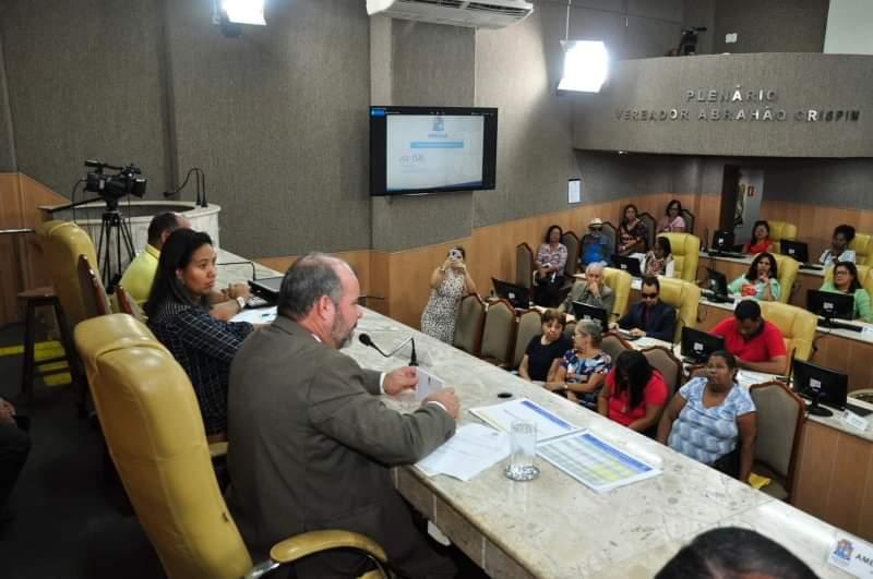 Isac realiza Audiência Pública para debater o reajuste salarial dos servidores municipais