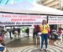 Linda Brasil apoia ato contra Reformas administrativas e em defesa dos servidores públicos de Sergipe