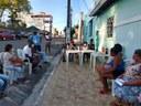 Linda Brasil visita a comunidade quilombola no bairro Getúlio Vargas