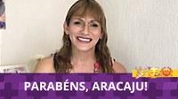 Linda parabeniza Aracaju pelos 166 anos