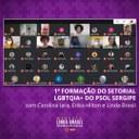 """Linda participa da formação política """"Interseccionalidade: feminismos e transativismos"""""""