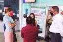 Linda visita UPA Fernando Franco e ouve reclamações dos pacientes da Ala Covid