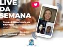Em Live Parlamento Digital, Joaquim destaca importância da educação e projetos sociais nas comunidades