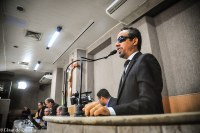 Lucas Aribé parabeniza a TV Câmara pelos dois anos de canal aberto