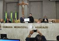 Padre Cláudio Dionizio Rocha Santos é agraciado com título de Cidadão Aracajuano