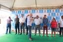 Parlamentares comemoram obras de infraestrutura no bairro Cidade Nova