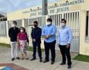 Pastor Diego visita escolas do 17 de março e Santa Maria com Comissão de Educação