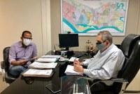 Professor Bittencourt visita EMURB e leva demandas da Zona Norte e Zona de Expansão