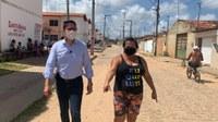 Ricardo Marques lamenta situação do Residencial Vida Nova e pede atenção da prefeitura