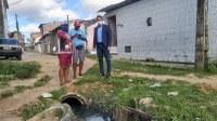 Ricardo Marques visita comunidade carente do Lamarão e cobra melhorias da Prefeitura de Aracaju
