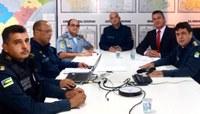 Segurança no Carnaval: Zezinho participa de reunião de planejamento com comandantes da PM