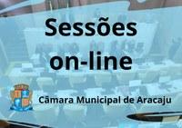 Sessões da Câmara serão retomadas on-line