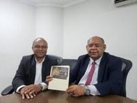 Seu Marcos é convidado para a inauguração da maior árvore de natal de Aracaju