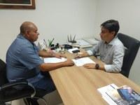 Seu Marcos entrega reivindicações de moradores da zona norte à SMTT