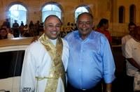 Seu Marcos prestigia missa dos festejos natalinos da Paróquia N. Sra. de Lourdes