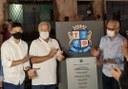 Soneca comemora conclusão de obras de infraestrutura no loteamento Tia Caçula